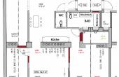 Gelegenheit für Familien oder Anleger – 4 Zimmer Wohnung mit Terrasse